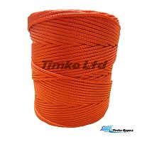 3mm Red Braided Nylon Cord x 180m